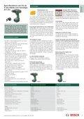 bosch - máquinas l/ amadora - Page 7