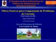 Comar Condensatori - Universidade do Minho