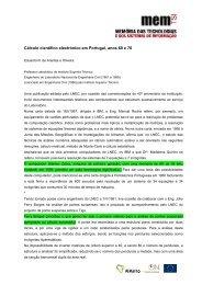 Cálculo científico electrónico em Portugal, anos 60 e 70 - memTSI