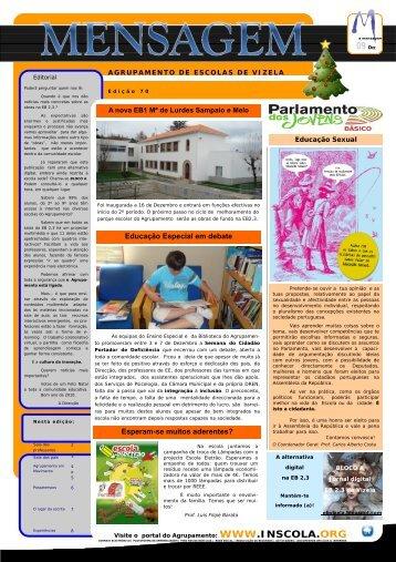 Jornal - Agrupamento de Escolas de Vizela