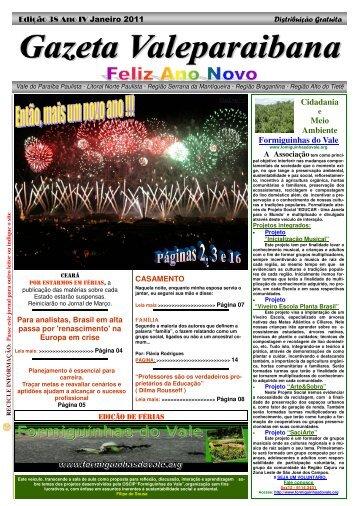 038 - Gazeta Valeparaibana