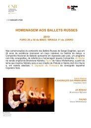 Press Dig. Ballets Russes_maio_2010 - Companhia Nacional de ...