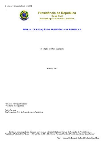 Manual de redação da Presidência da República 2002.pdf - Unifap
