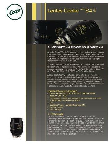 Lentes Cooke M - Cooke Optics