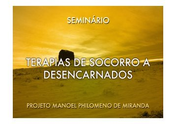 (Microsoft PowerPoint - SEMIN\301RIO 5-TERAPIAS DE SOCORRO ...
