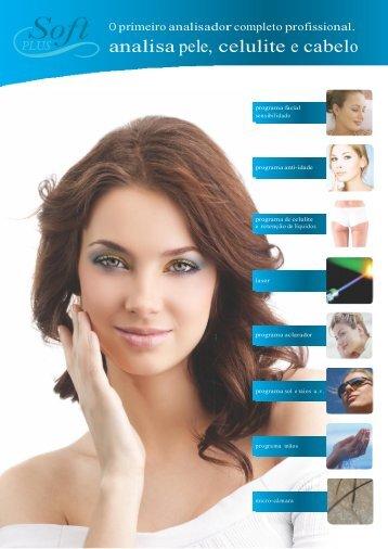 analisa pele, celulite e cabelo