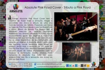 Apresentação do PowerPoint - Absolute Pink Floyd