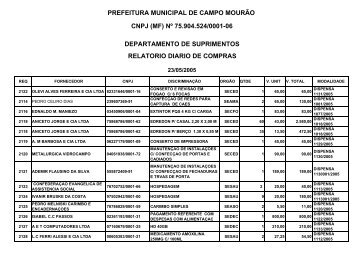 Visualizar - Prefeitura Municipal de Campo Mourão