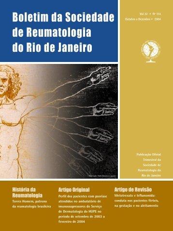 Boletim da Sociedade de Reumatologia do Rio de Janeiro