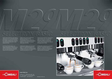 La Cimbali M29 espressomaskiner