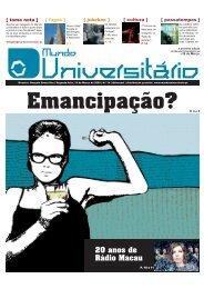 Emancipação? - Mundo Universitário