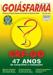 NEWS - Conselho Regional de Farmácia de Goiás