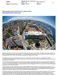 Reestruturação urbana avança por onde a cidade ... - Porto Maravilha
