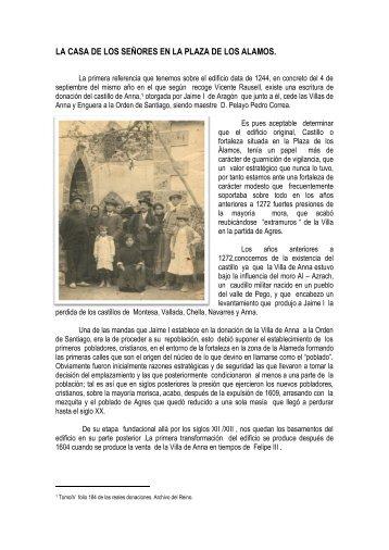 LA CASA DE LOS SEÑORES EN LA PLAZA DE ... - Historia de Anna