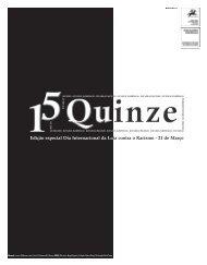 Diz não ao racismo - Jornal Quinze