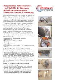 Respektables Referenzprojket von FEURON: die Biomasse ...