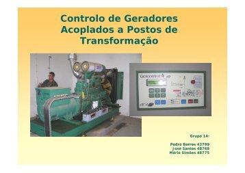 Controlo de Geradores Acoplados a Postos de Transformação - ISR