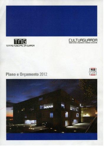 Plano e Orçamento 2012 J - Teatro Municipal da Guarda