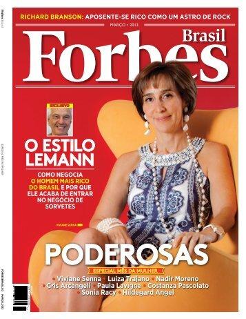 Preview da útima edição - Assine a Revista Forbes
