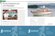 Für die Sicherheit und zum Vergnügen - boot24.ch