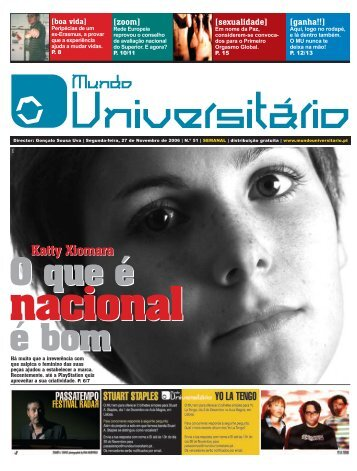 Katty Xiomara - Mundo Universitário