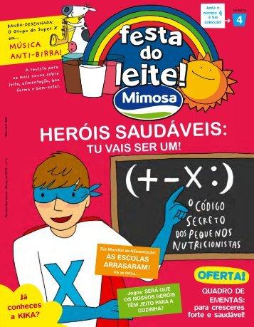 HERÓIS SAUDÁVEIS: - Mimosa