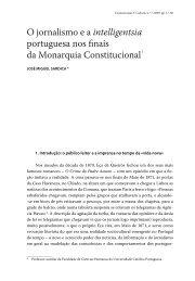 O jornalismo e a intelligentsia portuguesa nos finais da ... - BonD