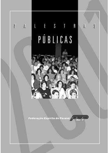 Arquivo em pdf - 855kb - Federação Espírita do Paraná