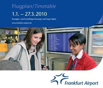 Frankfurter Flugplan