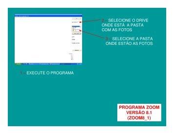 PROGRAMA ZOOM VERSÃO 8.1 (ZOOM8_1) - Reocities