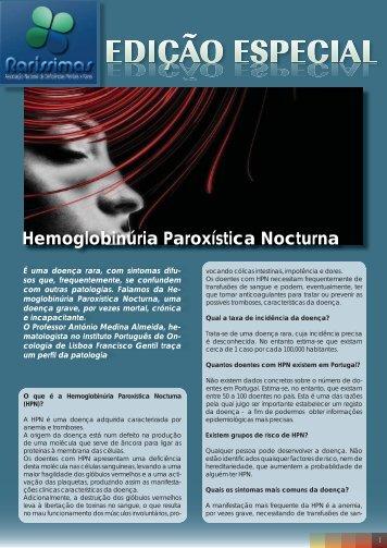 Hemoglobinúria Paroxística Nocturna - Raríssimas