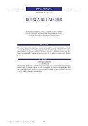 DOENÇA DE GAUCHER - Acta Médica Portuguesa