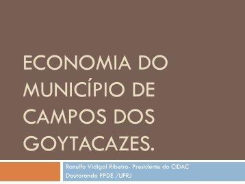 Economia do Município de Campos dos Goytacazes