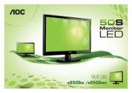 Folheto A4 Serie 50SN e950Sw e e950Swn EO-0123-A6.indd - AOC