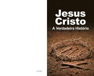 Jesus Cristo: A Verdadeira História - A Boa Nova - Uma revista de ...