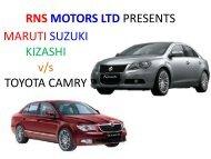 RNS MOTORS LTD PRESENTS MARUTI SUZUKI ... - Dealer Admin