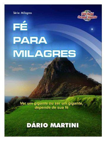 paginas - fé para milagres - Semeadores de Fogo