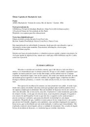 Último Capítulo, de Machado de Assis Fonte: ASSIS, Machado de ...