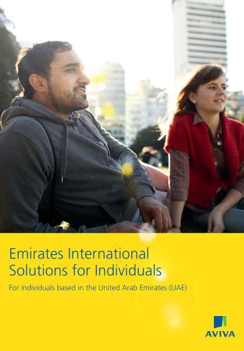Emirates International Solutions Brochure (PDF 17KB) - Aviva