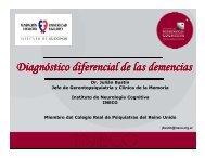 Diagnóstico diferencial de las demencias - Cursos CIAPAT