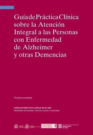 Guía de Práctica Clínica sobre la Atención Integral a las Personas ...