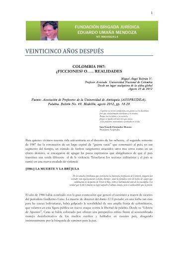 Colombia 1987 Miguel Angel Beltran.pdf - INSPP.org
