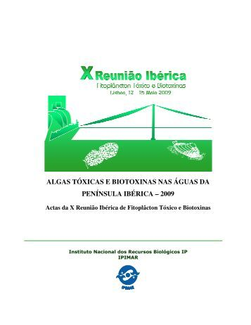 algas tóxicas e biotoxinas nas águas da península ibérica ... - Ipimar