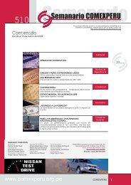 r Semanario Nº 510 - ComexPerú