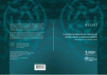 (ASSIST): Manual para uso en - PAHO/WHO