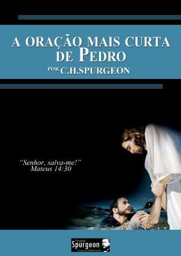 A Oração mais curta de Pedro - Projeto Spurgeon