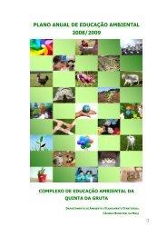 Plano de Educação Ambiental 2008 09 - Portal do Ambiente