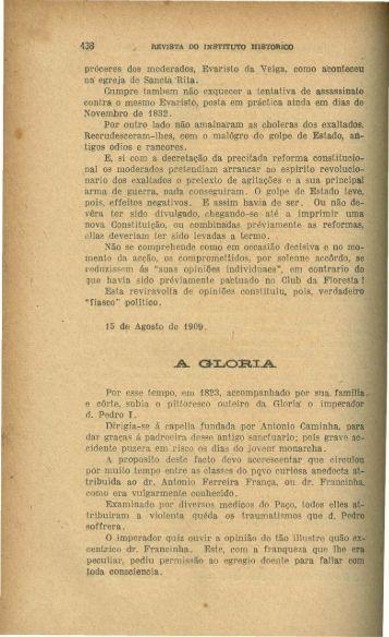 A Glória, por Vieira Fazenda - Rememorarte