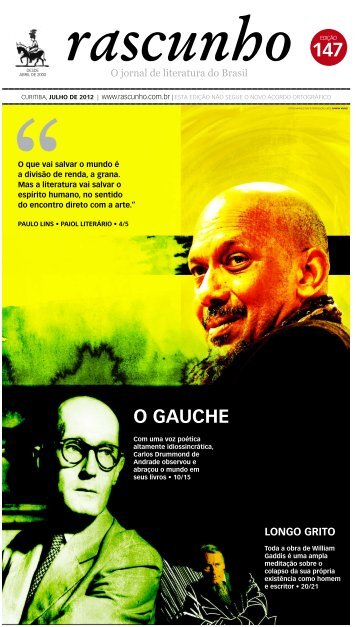 o gauche - Jornal Rascunho