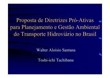 Proposta de Diretrizes Pró-Ativas para Planejamento e Gestão ...